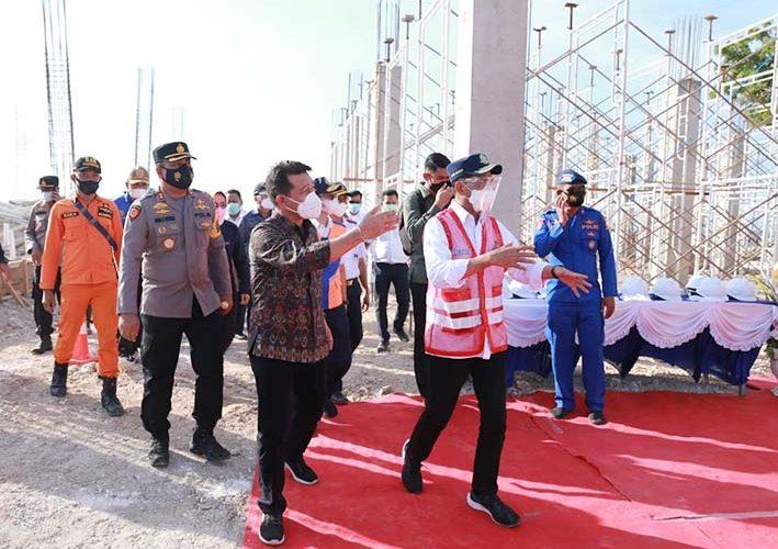 Menhub: Tahun Baru 2022 Pelabuhan Sampalan Nusa Penida Siap Beroperasi