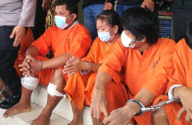 Ketangkap Kembali Mencuri, Kaki Residivis Dihadiahi Timah Panas