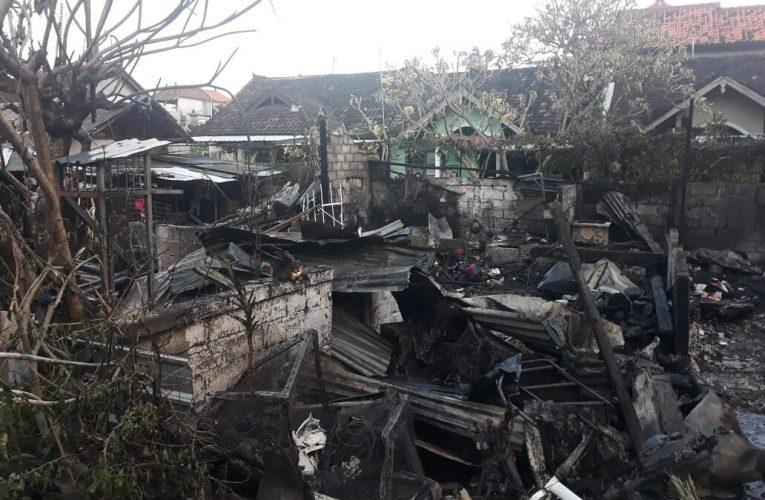 Si Jago Merah Mengamuk, 4 Rumah di Denpasar Ludes Terbakar
