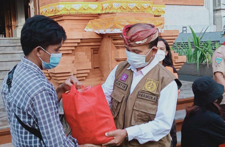 Kwarda Bali  Berbagi Sembako di Tengah Pandemi  Covid-19