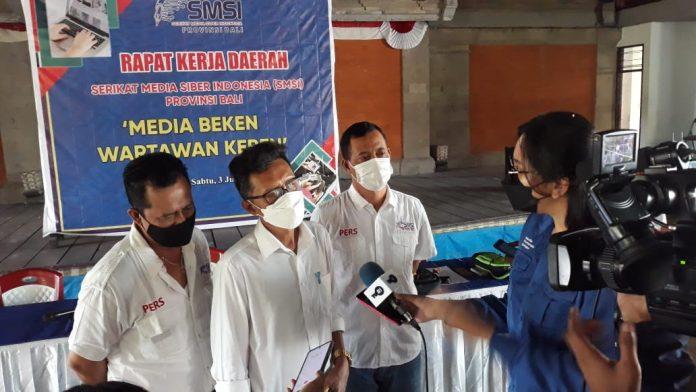 SMSI Bali harus Terdepan dan Jadi Contoh Organisasi Media Online yang Lain