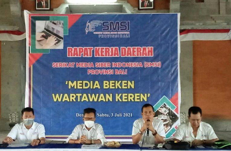 Ini Pernyataan Sikap SMSI tentang Pandemi Covid-19 dan Pemulihan Ekonomi Bali