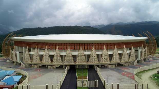 Akan Dibuka Jokowi, Menkopolhukam dan Mendagri Tinjau Kesiapan Pembukaan PON XX Papua