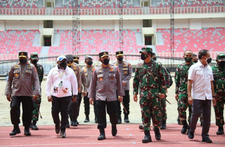 Panglima TNI dan Kapolri Tinjau Persiapan PON XX Papua