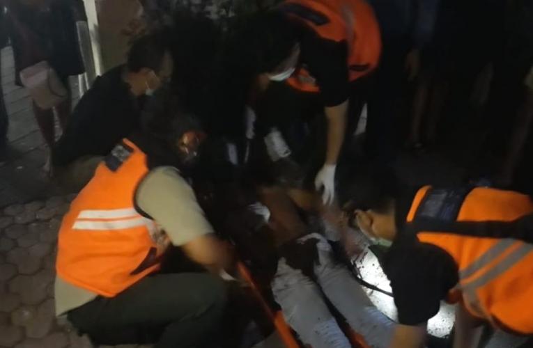 Pria Asal Jember Jadi Korban Penusukan Tergeletak di Pinggir Jalan