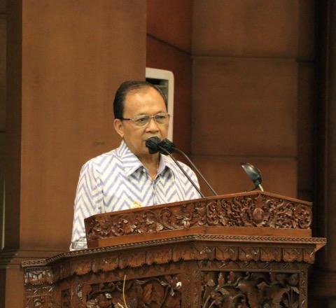 Gubernur Koster Apresiasi Raperda Pembentukan Dana Cadangan Pileg dan Pilgub 2024