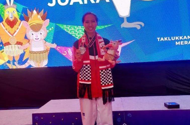 Febriyanti Sumbang Medali Perak untuk Kontingen Bali di PON XX Papua