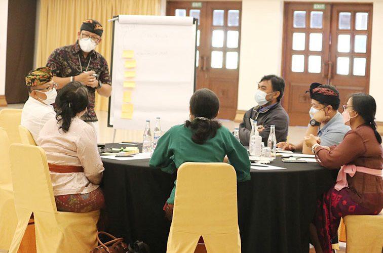 Pulihkan Kesehatan dan Ekonomi Pasca Covid-19, Dinkes Bali Gelar Kick Off Meeting AIHSP