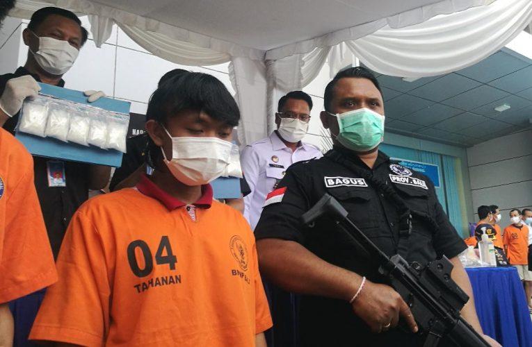 Mahasiswa di Denpasar Ditangkap dengan BB 1 Kg Sabu, Terancam Hukuman Mati
